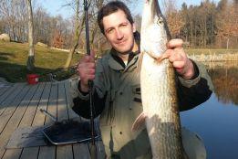 Зимняя рыбалка у Якуба Вагнера