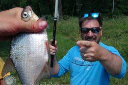 ПРК, первая рыбалка
