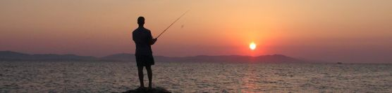 Coastal fishing in Greece
