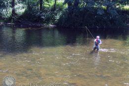 First tenkara fly fishing