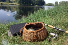 Fishing for perch on Elbe