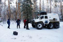Ice fishing in Siberia with Jakub Vagner 2013