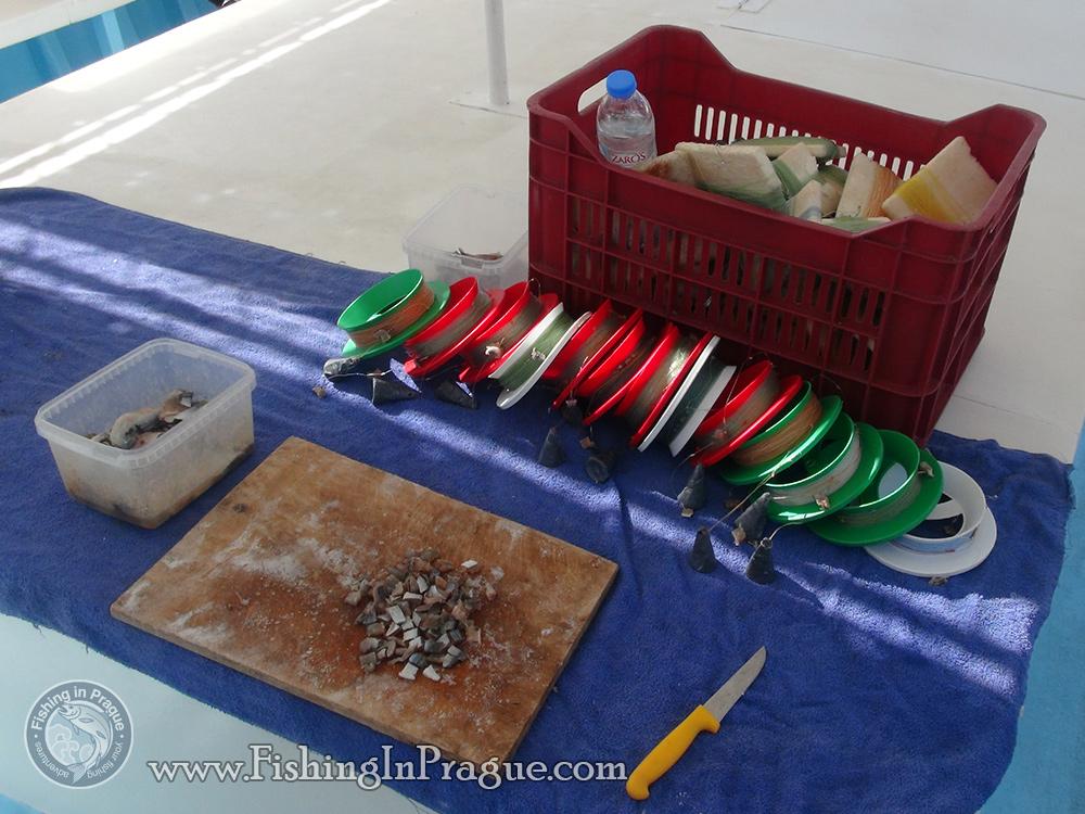 Traditional greek fishing