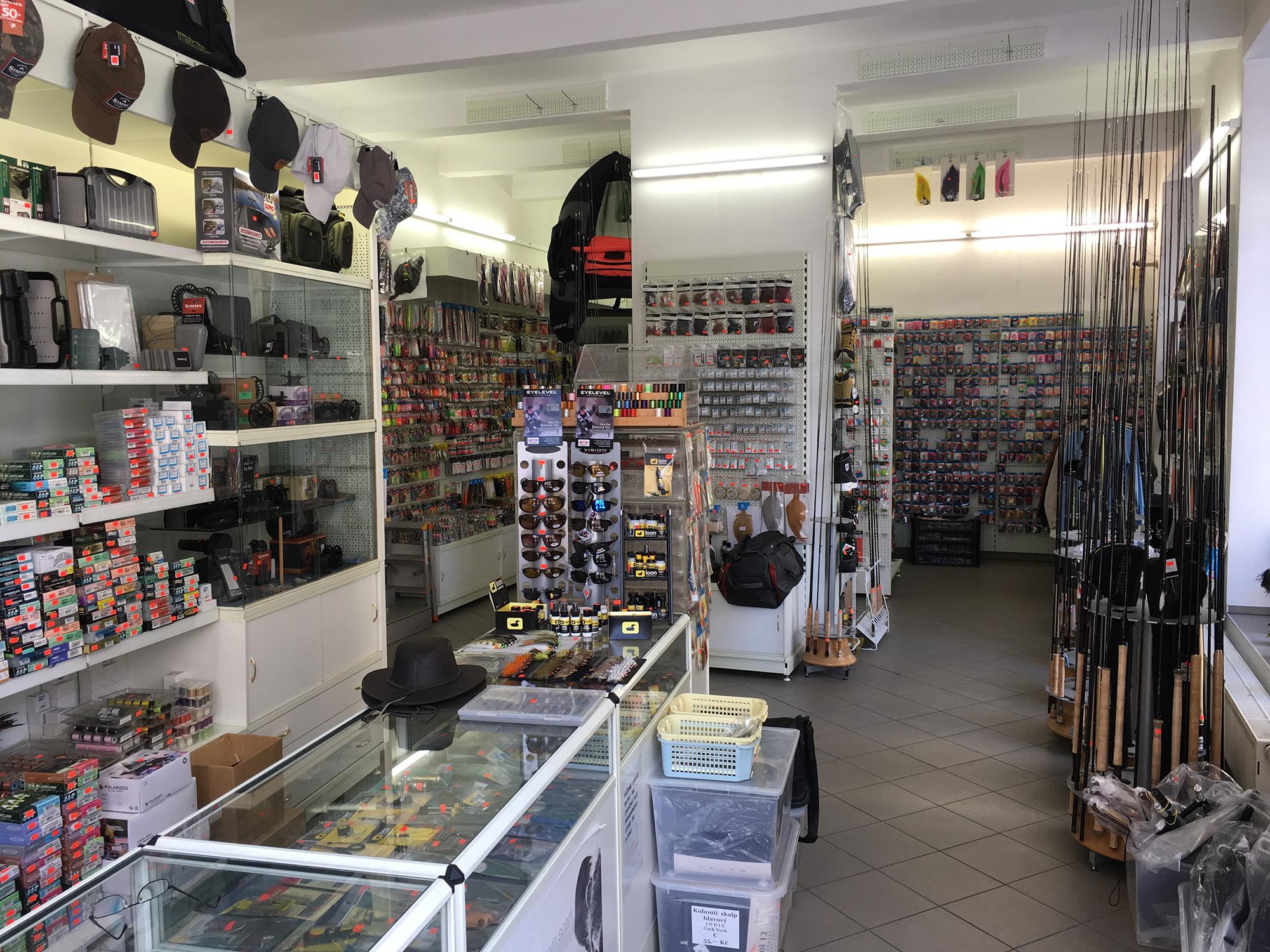 Fly Fishing store Muskareni Zeman
