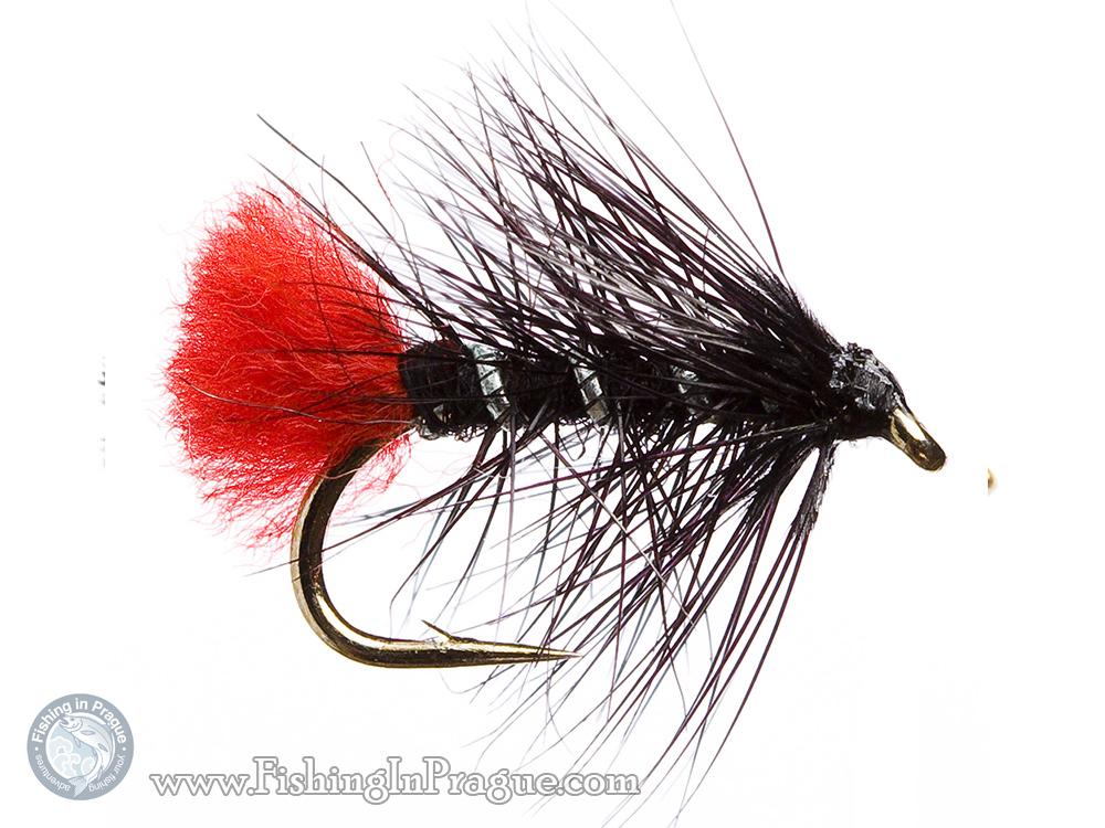 Black palmer fly pattern
