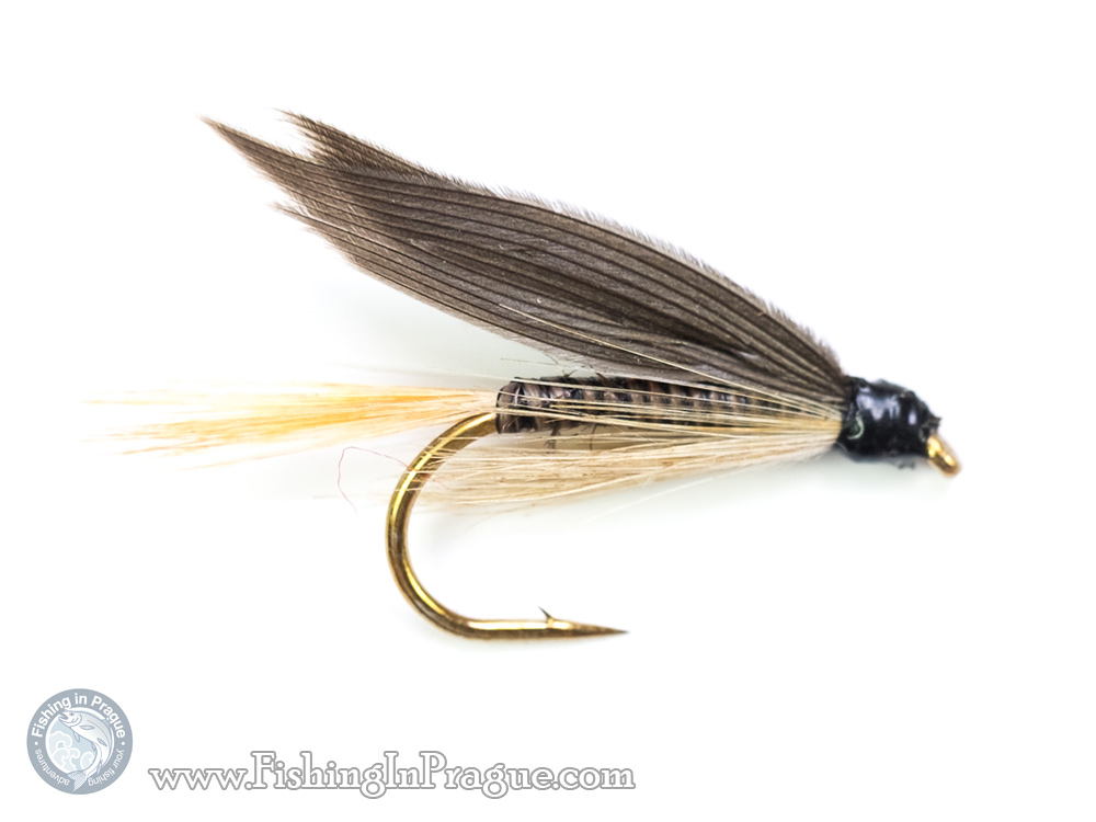 Ginger quill fly pattern