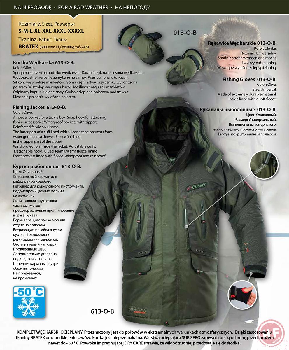 Зимняя куртка Graff 613-O-B