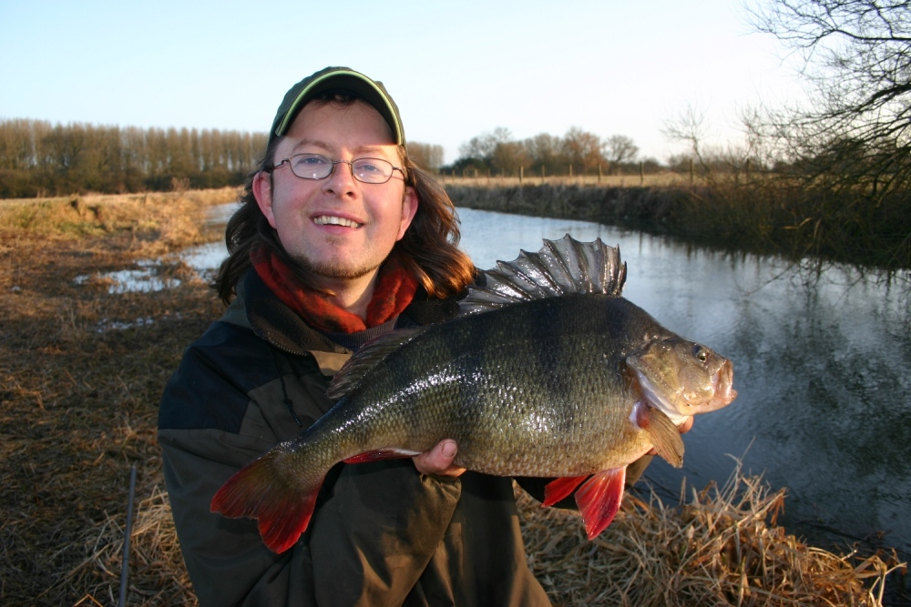 Perch 5lbs 4ozs,River Ouse,Lobworm