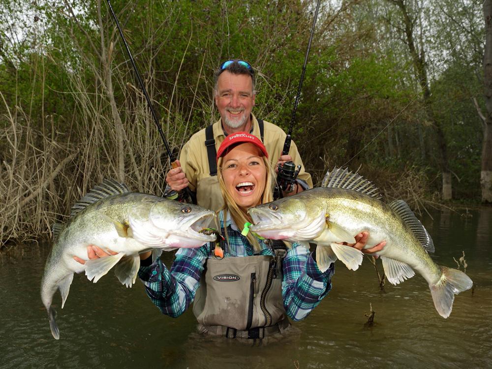 Zanders from Rio Ebro