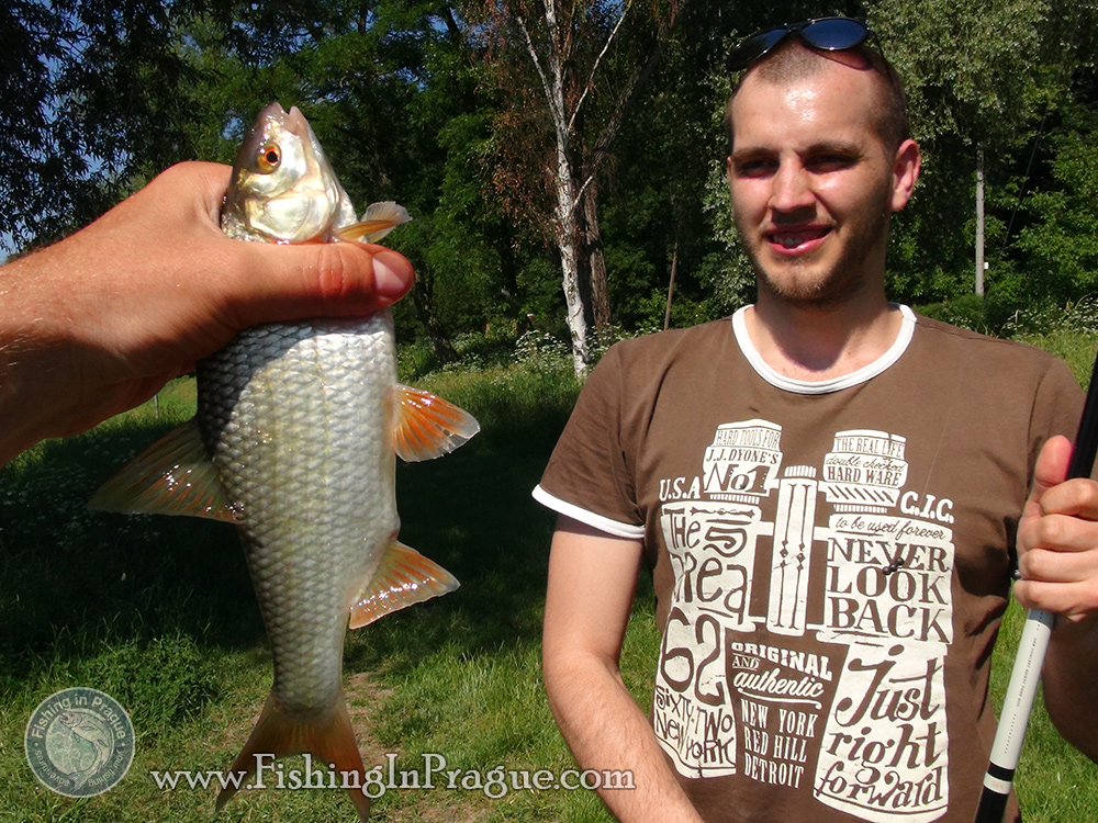 Prague Fishing Club, first fishing trip