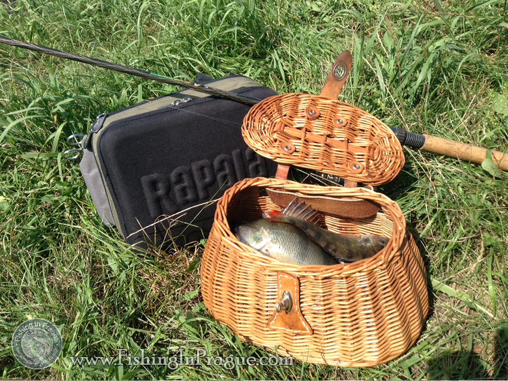 The trout basket was easy filled by fish